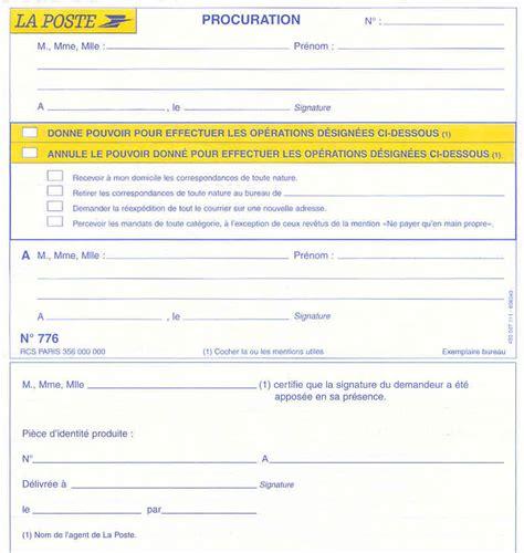 Exemple De Lettre De Procuration Pour Retrait Colis Exemple Lettre De Procuration Retrait Colis