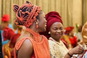 Coverlet Nigerian Wedding Attires