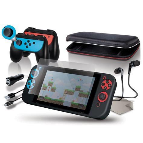 Nintendo Switch Energea Nylotugh 2 0 Usb C To Usb A 1 5m Black dreamgear 9 in 1 nintendo switch accessories starter kit 845620065028 ebay