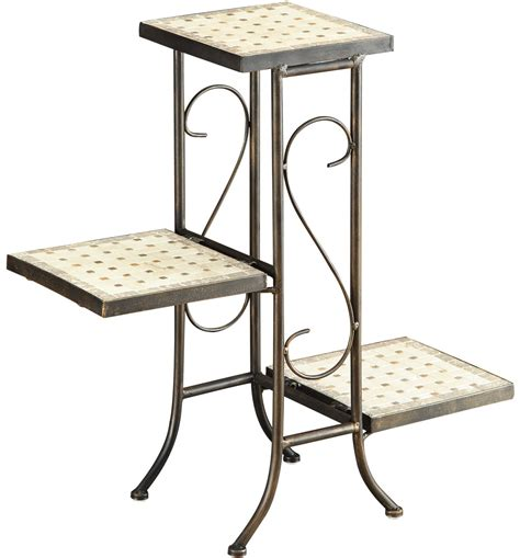 3 tier console 3 tier plant stand in indoor plant stands
