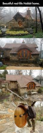 real hobbit house real life hobbit home hobbit lotr pinterest