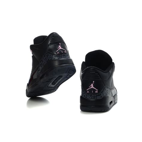 womens jordans shoes air 3 black price 73 28