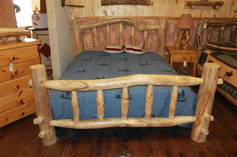 log cabin bed frame how to build a wooden bed frame 22 interesting ways