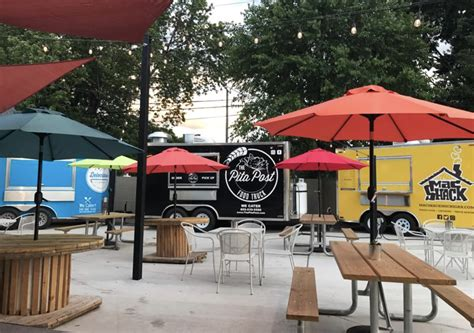 table food truck detroit fleat food truck park and boozery opens today in
