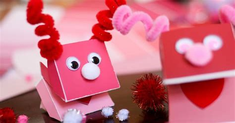 A Practical Pantied Valentines by Paint Chip Puppet For S Day Paint