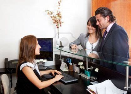 Front Desk Receptionist Questions by 25 Best Ideas About Receptionist On