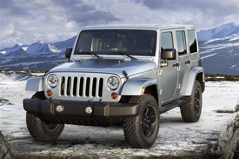 Jeep Edition Jeep Wrangler Arctic Special Edition Photos And Details