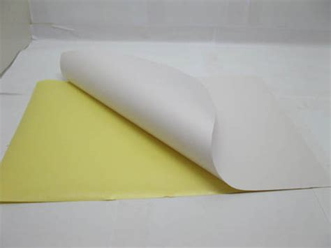 Label Paper - 500sheets blank a4 size paper label sticker self adhesive