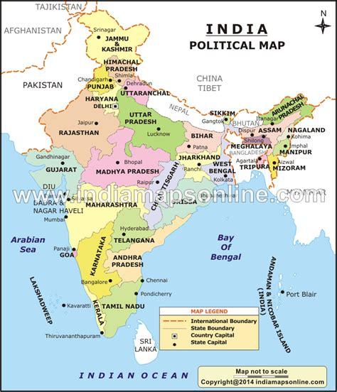 india political map images indien politische karte
