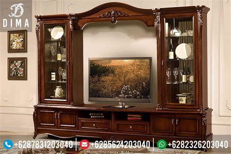 Lemari Kayu Ruang Tamu bufet tv minimalis murah bufet tv jepara murah set meja