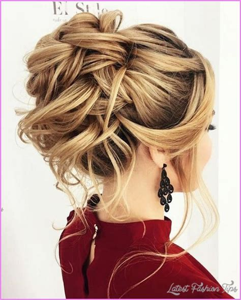 evening hairstyles images hairstyle for prom latestfashiontips com