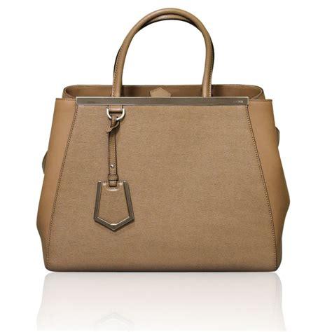 Fendi With Fendi Handbag by Fendi 2jours Barley Medium Tote Shopping Shoulder Bag
