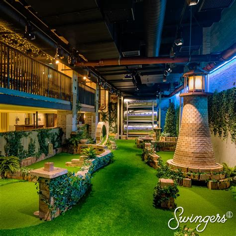 Swingers Crazy Golf City Of London London Bar Reviews