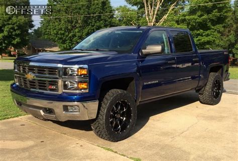 Wheels 52 Chevy Truck Custom wheel offset 2014 chevrolet silverado 1500 aggressive 1