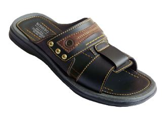 Sandal Pria Bahan Kulit Sandal Pria Wb 2325 Max Baghi romero sandal dan sepatu