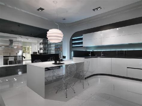 illuminazione cucine moderne cucina angolare con illuminazione led opal pura linea