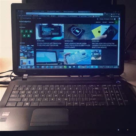 review toshiba satellite c55d b5212 laptop somegadgetguy