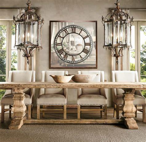 elegant classic trestle tables