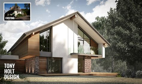 home designs and architecture concepts design concept for remodel of chalet bungalow in kent