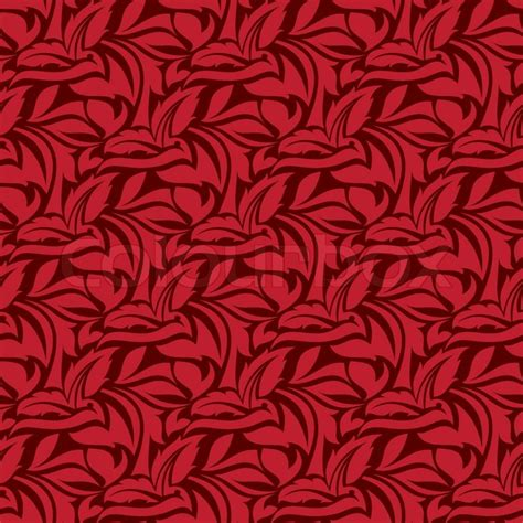 seamless pattern wiki red seamless wallpaper pattern stock vector colourbox