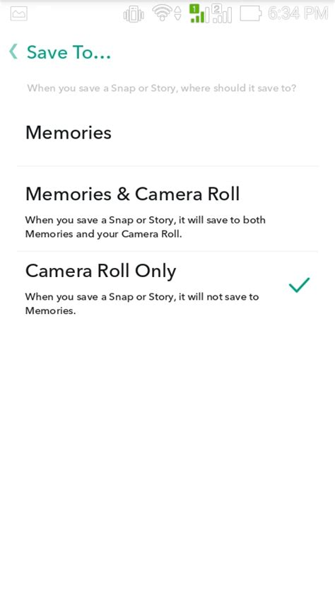how to my to roll how to save snapchat memories to roll social media apps updates and stories