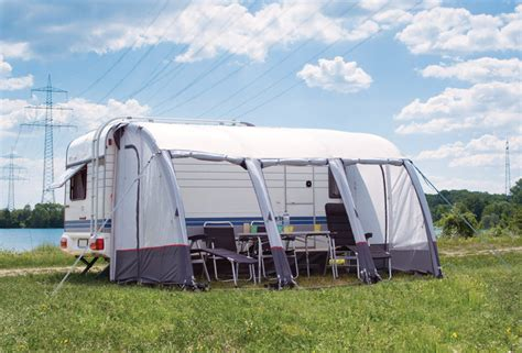 Caravan And Awning by Dreams That Ride On A Caravan