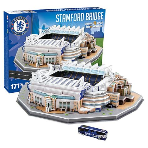 Diskon Puzzle Miniatur Stadion Stamford Bridge Chelsea nanostad 3d пъзел стадион stamford bridge chelsea цена 39 90 лв пъзели igrachka