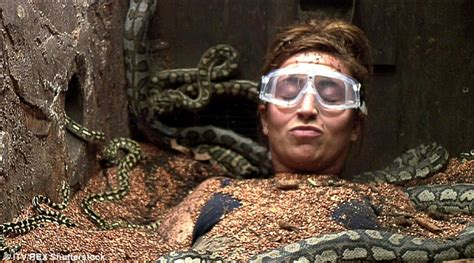 Swallowed Into The Pit i m a s ferne mccann faces more than 40 snakes