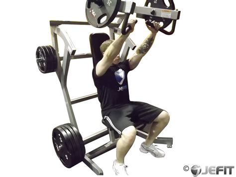 chest incline bench press leverage incline chest press exercise database jefit