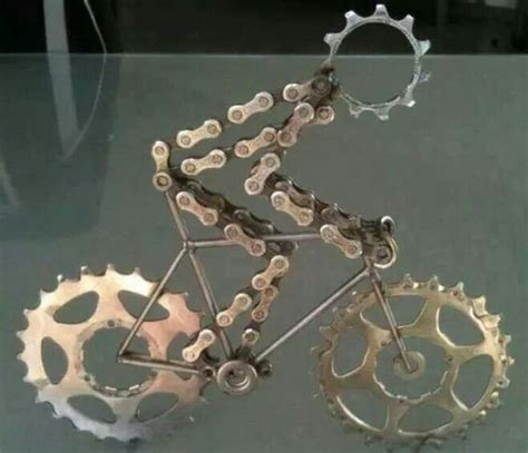Bicycle Decorations Home 5 things made from recycled bicycle chains two wheels better