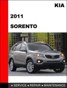 Kia Maintenance Kia Sorento 2011 Oem Factory Service Workshop Repair