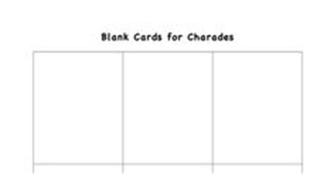 charades cards template free printable feelings and for on