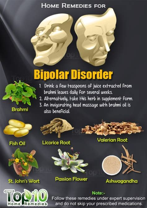 treatment for mood swings home remedies for bipolar disorder top 10 home remedies