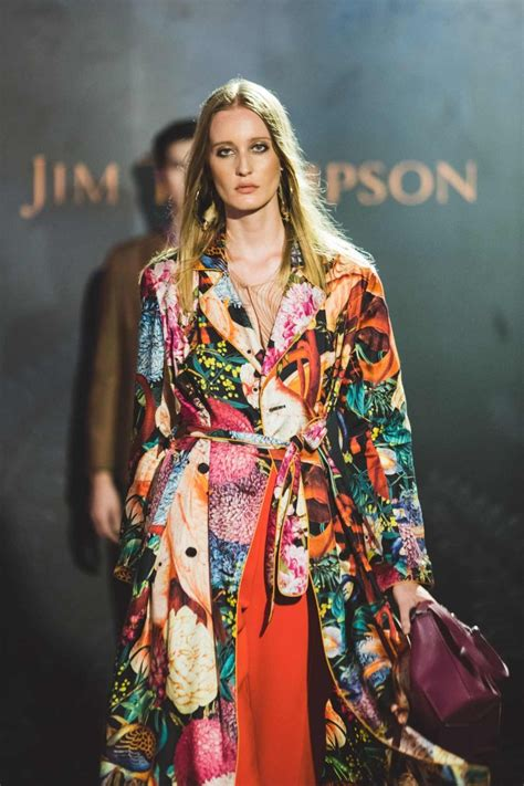 jim thompson fw18 women s fashion show jimthompson com