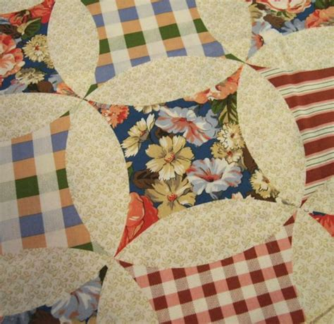 Quilt Cheater Fabric by Sale Quilt Cheater Fabric Cotton Cloth By Missivyvintage