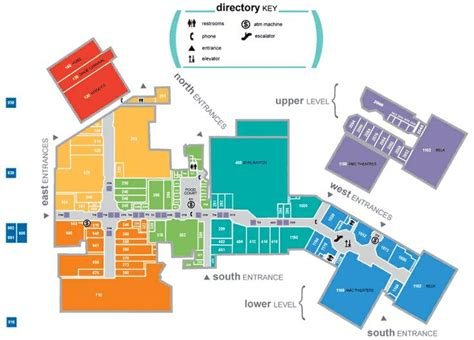 layout mall joshua spell wayfinding environmental 1 map of the