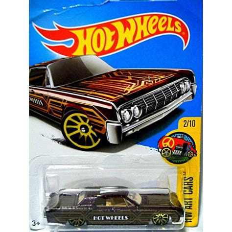 Hotwheels Lincolin Cotinental lincoln continental 1964 wheels wheels bond