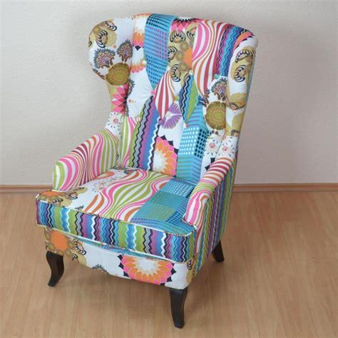 stuhl patchwork best 25 ohrensessel patchwork ideas on
