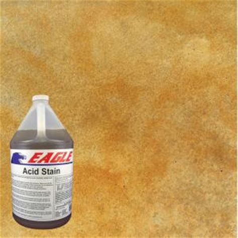 eagle 1 gal wheat concrete acid stain edadw the home depot
