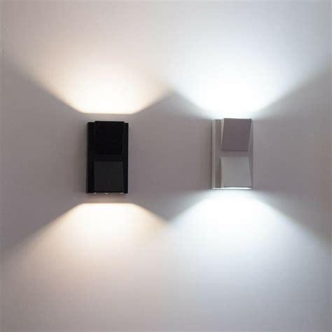 applique esterni applique led per esterni faretto doppia luce 10w lada