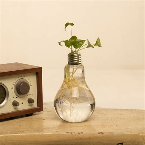 Home Decor Pots Flower Pots Planters Home Decoration Flower Vases Decorative Glass Vases Bulb Vase Wedding