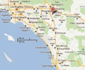 where is moreno valley california map sighting reports 2011