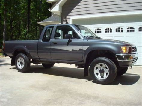 1992 Toyota 4x4 For Sale Sell Used 1992 Toyota Tacoma 4x4 Extended Cab 30 386
