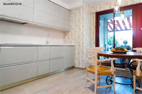 cocina moderna gris brillo cocinas suarco fabrica