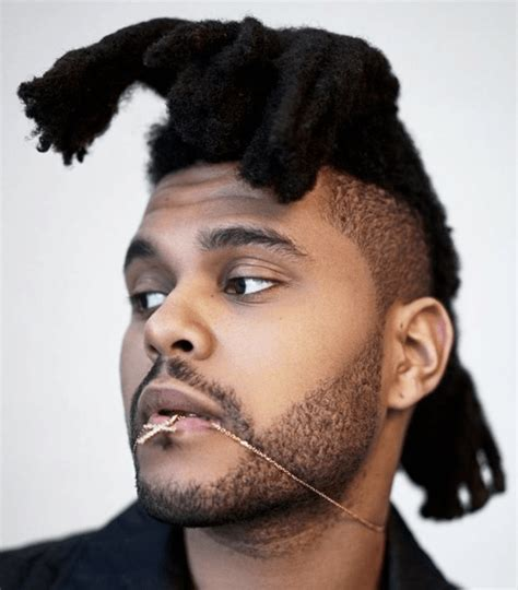 the weeknd hair style holy sh t the weeknd cut his signature dreads off daily