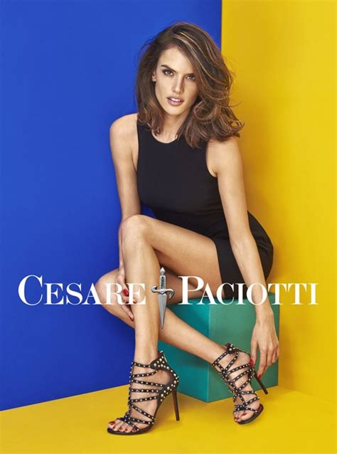 Next Fall 2007 Ad With Alessandra Ambrosio And Paul Sculfor by Alessandra Ambrosio For Cesare Paciotti Summer 2016