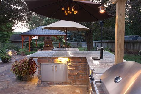 Outdoor Kitchen Lights 6 Considerations For Creating A Versatile Outdoor Kitchen Commonwealth Home Design