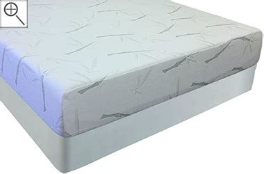 Bamboo Memory Foam Mattress 10 Inch Slumber Pedic Bamboo Cover Memory Foam Mattress