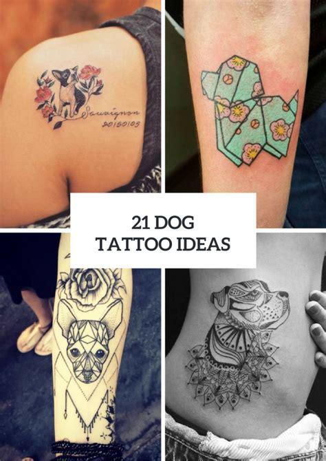 tattoo inspiration dog 21 touching dog tattoo ideas for women styleoholic