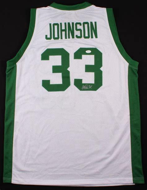 Michigan Coa Search Magic Johnson Signed Michigan State Jersey Jsa Coa